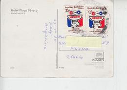 REPUBLICA DOMENICANA - Cartolina Per L'Italia - Sport - Giochi Centro America - Repubblica Domenicana