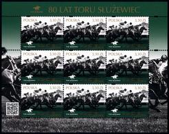 Poland 2019 Fi 4963 Mi 5113 Klb. 80 Years Of Track Służewiec - 1944-.... República