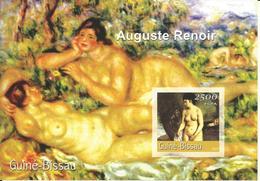 Guinea Bissau 2001, BF Renoir - Guinea-Bissau