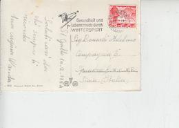 SVIZZERA  1954 - Annullo Meccanico - Sci - Wintersport - Inverno