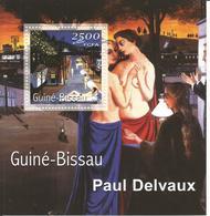 Guinea Bissau 2001, BF Paul Delvaux - Guinea-Bissau