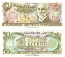 Costa - Rica - 50 Colones 1993 UNC - Costa Rica