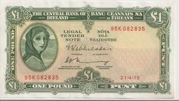 IRELAND P.  64c 1 P 1975 AUNC - Ierland