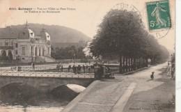 ***  29  ***   QUIMPER  Vue Sur L'odet Au Pont Firmin TTBE - Quimper