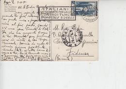 ITALIA  1954 - Annullo Meccanico - Lotta Contro I Tumori - Malattie