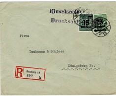 1923, Portogerechte  Reko-Drucksache , A2009 - Deutschland