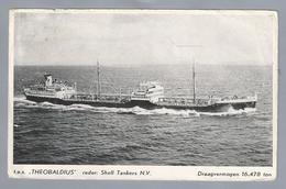 NL.- T.e.s. - THEOBALDIUS -. Reder: SHELL TANKERS N.V. - Repro's