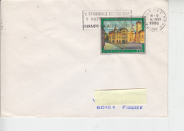 """ITALIA - 1980 - Lecce - Annullo Meccanico """" Eccidio Eroi - Otranto"""" - Storia"""