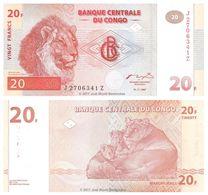 Congo 20 Francs 1997 UNC - Congo