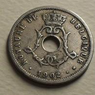 1902 - Belgique - Belgium - 5 CENTIMES, LEOPOLD II, Type Michaux, Légende Belgique, Petit Date, KM 46 - 03. 5 Centimes
