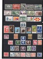 45 TIMBRES CANADA OBLITERES & NEUF SANS GOMME   DE 1928 à 1971 - 1952-.... Règne D'Elizabeth II
