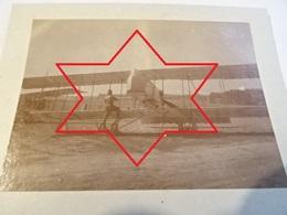 Photo Septembre 1915 Camp D'aviation De La Noblette (LA CHEPPE) - Avion Farman MF 11, Escadrille Caudron ? (A198, Ww1) - Francia