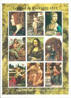 Guinea 1998, BF Leonardo Da Vinci Expò Filatelico ITALIA '98 - Guinea (1958-...)