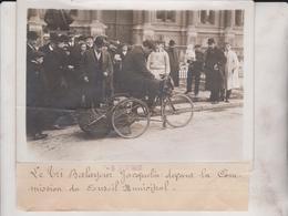 LE TRI BALAYEUR JACQUELIN COMMISSION DU CONSEIL MUNICIPAL 18*13CM Maurice-Louis BRANGER PARÍS (1874-1950) - Radsport