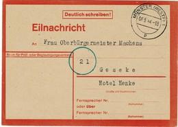 1944, Münster, Eilnachricht! , A2015 - Deutschland