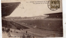 STADE OLYMPIQUE DE COLOMBES VUE GENERALE DE LA PISTE - Colombes
