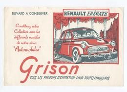 BUVARD -  GRISON   RENAULT FREGATE     --- Z900 - Macchina