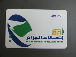 Prepaid And Chip Double Uses Phonecard, 250DA, Backside No CN,maybe DEMO - Algeria