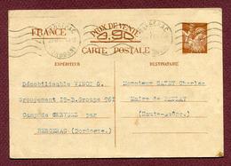 "CHANTIERS DE JEUNESSE 1940 : "" BERGERAC - CAMP De CREYSSE - Groupement 19 B "" - Postmark Collection (Covers)"