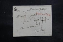 FRANCE / SUISSE - Lettre De Lausanne Pour La France - L 36201 - 1792-1815: Conquered Departments