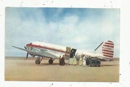Cp, Aviation , Avion ,  DOUGLAS DC 3 , Compagnie AIR ALGERIE ,  Vierge ,  Ed. Draeger - 1946-....: Ere Moderne
