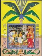 GUINEA EQUATORIALE - 1974 - NATIVITA' - ( MICHEL BL 132) - Guinea Equatoriale