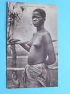 MOYEN CONGO Type BANTANDU ( J.I.P )  Nude / Naakt / Naked Woman > Anno 19?? ( Voir / Zie Photo ) ! - Congo Français - Autres