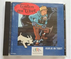 TINTIN AU TIBET  Jeu Pour PC Infogrammes 1997 - Discos & CD