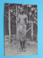 MOYEN CONGO Type BALEMFU ( J.I.P ) Nude / Naakt / Naked Woman > Anno 19?? ( Voir / Zie Photo ) ! - Congo Français - Autres