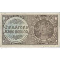 TWN - BOHEMIA & MORAVIA 3a - 1 Krone 1940 Serie: D 067 AVF - Altri – Europa