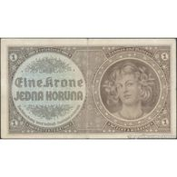 TWN - BOHEMIA & MORAVIA 3a - 1 Krone 1940 Serie: D 019 VF - Altri – Europa