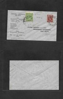 Airmails - World. 1934 (19 April) ENGLAND - AUSTRALIA Airrate Dud Fkd Envelope. VF. - Unclassified