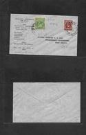 Airmails - World. 1934 (19 April) ENGLAND - AUSTRALIA Airrate Dud Fkd Envelope. VF. - Stamps