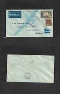 Airmails - World. 1936 (24 Dec) Ceylon - India First Flight Fkd Env. VF  Tata Airmail. - Stamps