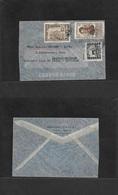 Airmails - World. 1940 (22 Feb) BOLIVIA - LATVIA. Via LAB CONDOR - LATI Link. Multifkd Env. Extraord Air Routing And VF. - Unclassified