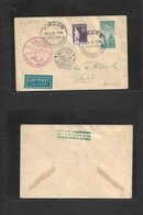 Airmails - World. 1959 (17 April) DENMARK. Special First Flight Comm Cachet, Fkd Env. Fine. - Stamps