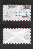 Airmails - World. 1957 (4 March) WALLIS Island - NEW CALEDONIA. First Air Flight. Special Cachet. Fkd Env 4fr Mata - UTU - Unclassified