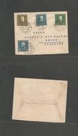 Albania. 1916 (26 Sept) Oschkodra - Medna Military. Multifkd Envelope. VF. - Albania