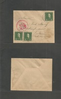 Albania. 1917. Durazzo - Scutari. Military Mail. Multifkd Envelope. - Albania