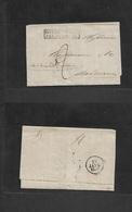 "Argentina. 1829 (21 Aug) Buenos Aires - France, Bordeaux (28 Jan 30) EL Full Text Box Bordeaux Sea Entry + Endorsed ""per - Argentina"