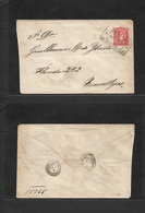 Argentina - Stationery. 1888 (6 Apr) TPO / Amb Nº14. 5c Vermilion Red Stat Env To Buenos Aires. Fine. - Argentina