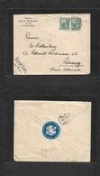 Argentina - Xx. 1906. German Consular Mail La Plata. Buenos Aires - Penang, Str, Stlments, Malaysia (March 15) Multifkd  - Argentina