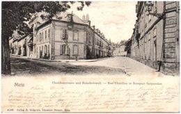 57 METZ - Rue Chatillon Et Rempart Serpenoise - Metz