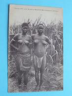 Femmes Voit ..Marché De NSONA-KIMALOMBA ( KWANGO ) ( J.I.P ) Nude / Naakt / Naked Woman > Anno 19?? ( Voir / Zie Photo ) - Congo Français - Autres