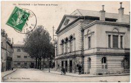 02 SOISSONS - Le Théatre Et La Prison - Soissons