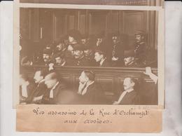 MONTMARTRE LES ASSASSINS RUE D'ORCHAMPT AUX ASSISES 18*13CM Maurice-Louis BRANGER PARÍS (1874-1950) - Orte