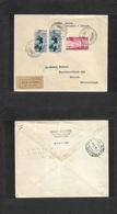 Italy - Xx. 1933 (27 Aug) Football World Championship. Torino - Switzerland, Zurich. Multifkd Registered Envelope. VF. - Italy