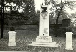 """4825 """"BRNO-MONUMENTO AI MORTI PER LA REDENZIONE D'ITALIA NELLE CARCERI DELLO SPIELBERG """" FOTO ORIGINALE DEL 1961 - Orte"""