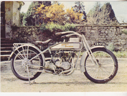 Postcard - Harley Davidson 1915 - 11 H.p. 4 Stroke Vee 2 Cylinder 989 Cc 3 Speed Gear Box - Card No. PTS/11172 - VG - Postales