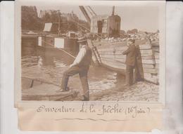 1912 OUVERTURE DE LA PÊCHE  VISSERS FISHING 18*13CM Maurice-Louis BRANGER PARÍS (1874-1950) - Sport